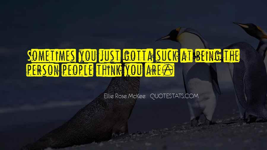 Ellie Rose McKee Quotes #68455