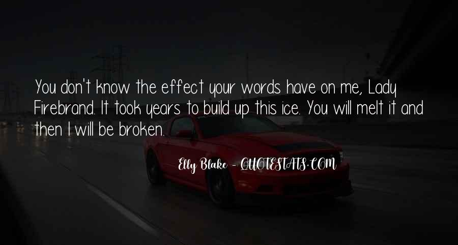 Elly Blake Quotes #1283846