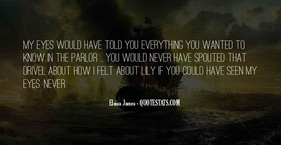Eloisa James Quotes #1304857