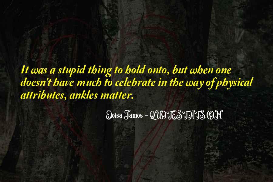 Eloisa James Quotes #445862