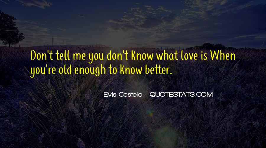 Elvis Costello Quotes #1162182