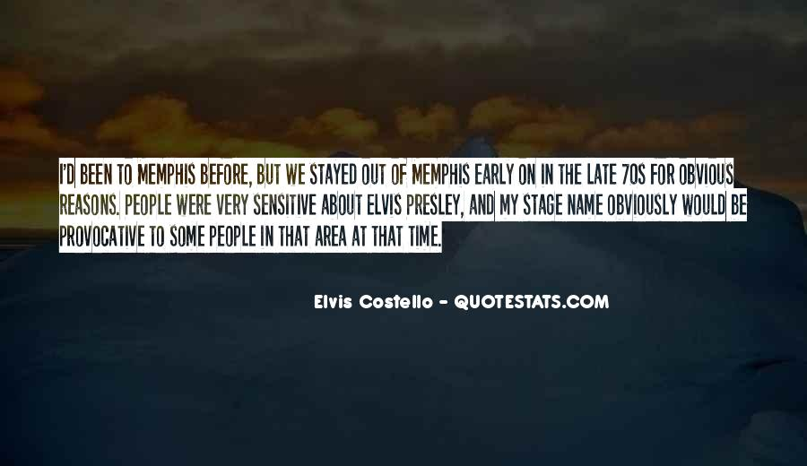 Elvis Costello Quotes #1403781