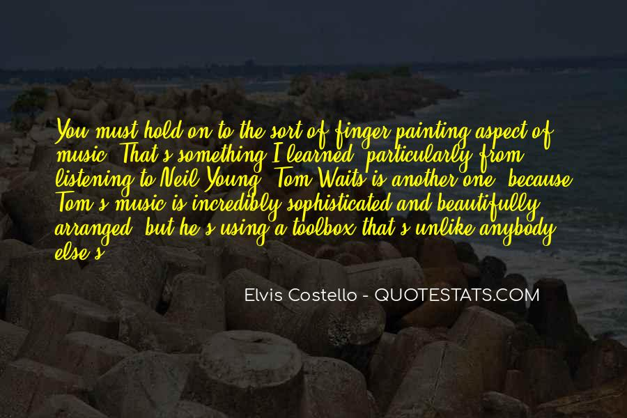 Elvis Costello Quotes #1419634