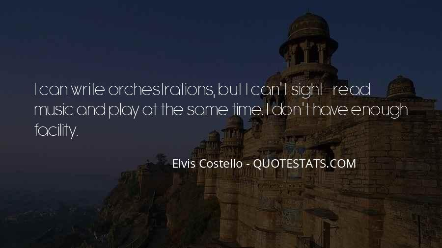 Elvis Costello Quotes #1606179