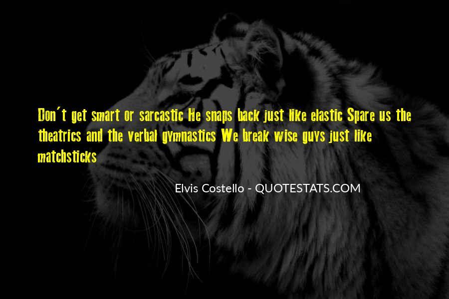 Elvis Costello Quotes #163198