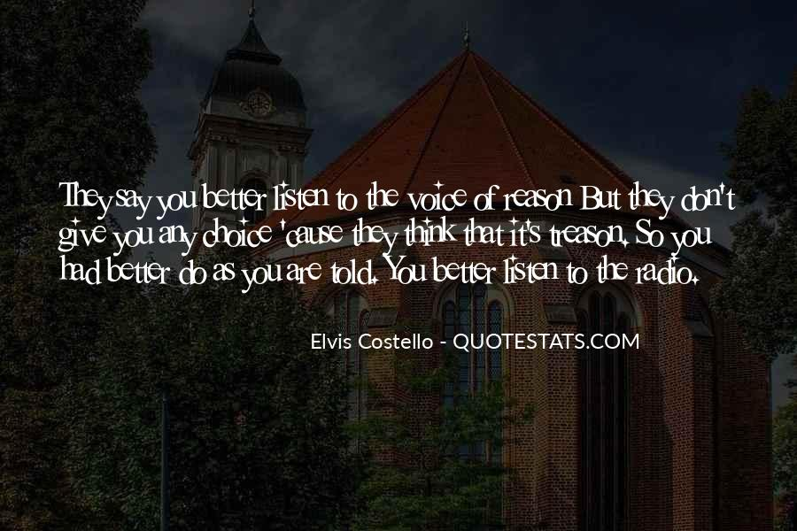 Elvis Costello Quotes #225543