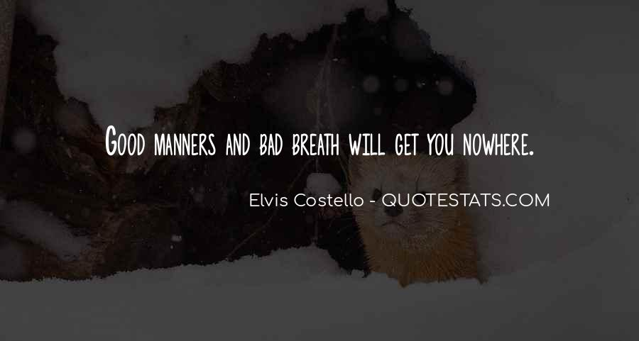 Elvis Costello Quotes #413411