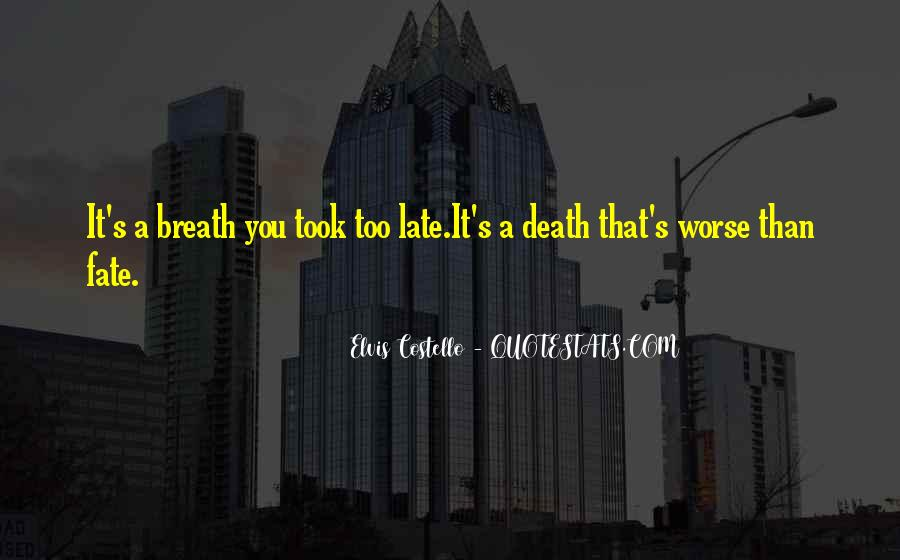Elvis Costello Quotes #62144