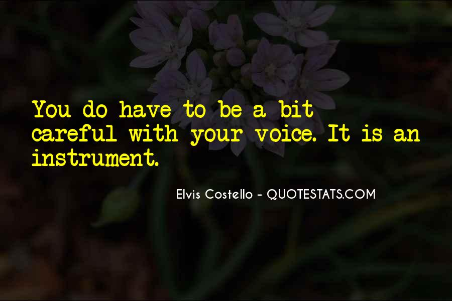 Elvis Costello Quotes #677222