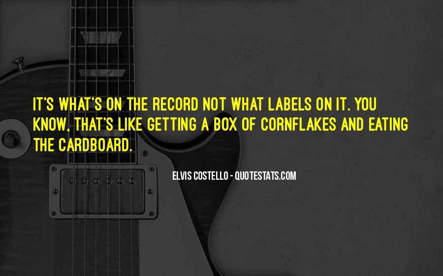 Elvis Costello Quotes #721526