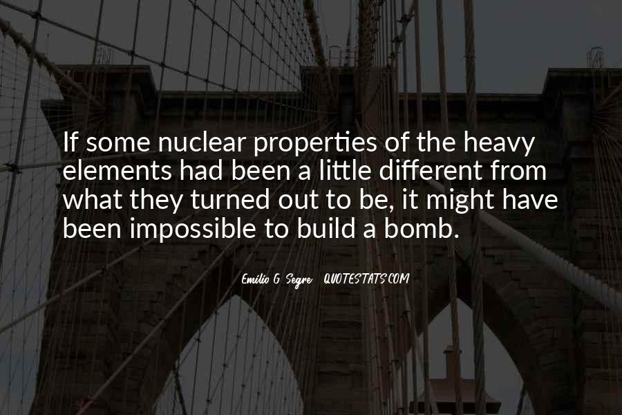 Emilio G. Segre Quotes #1052297
