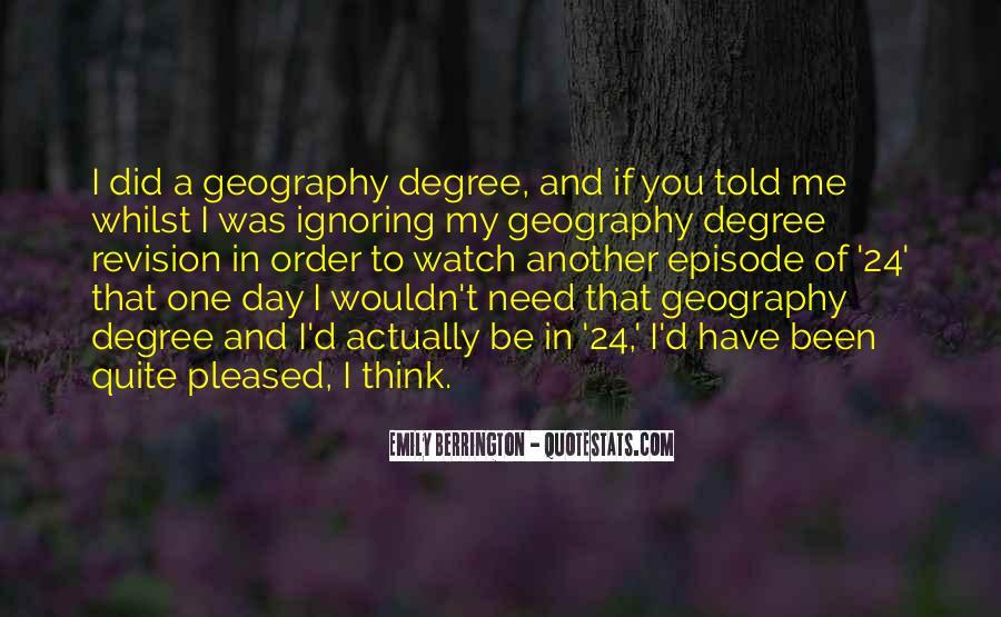 Emily Berrington Quotes #1077008