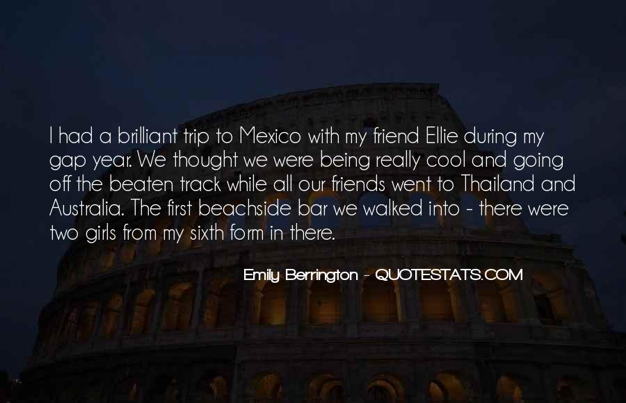 Emily Berrington Quotes #680561