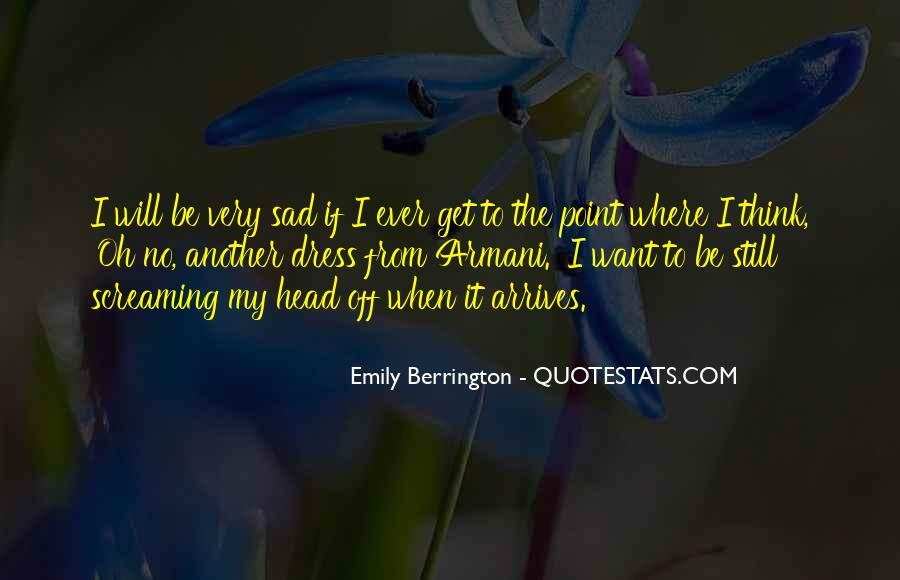 Emily Berrington Quotes #777764