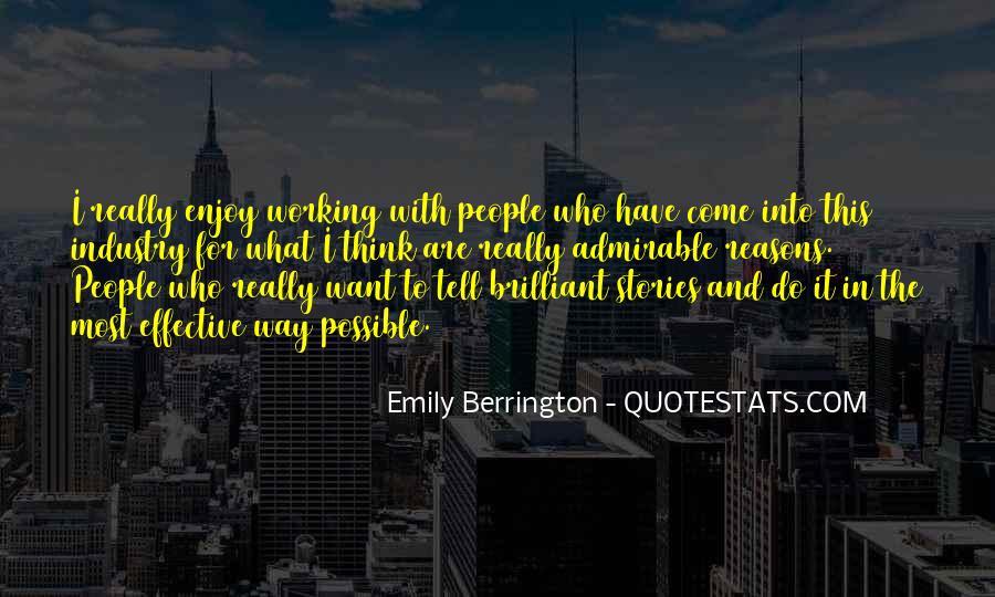 Emily Berrington Quotes #897640