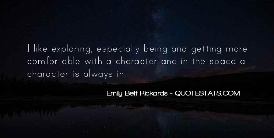 Emily Bett Rickards Quotes #291328