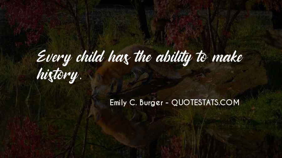 Emily C. Burger Quotes #644512