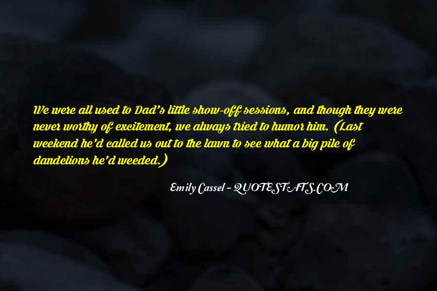 Emily Cassel Quotes #63775