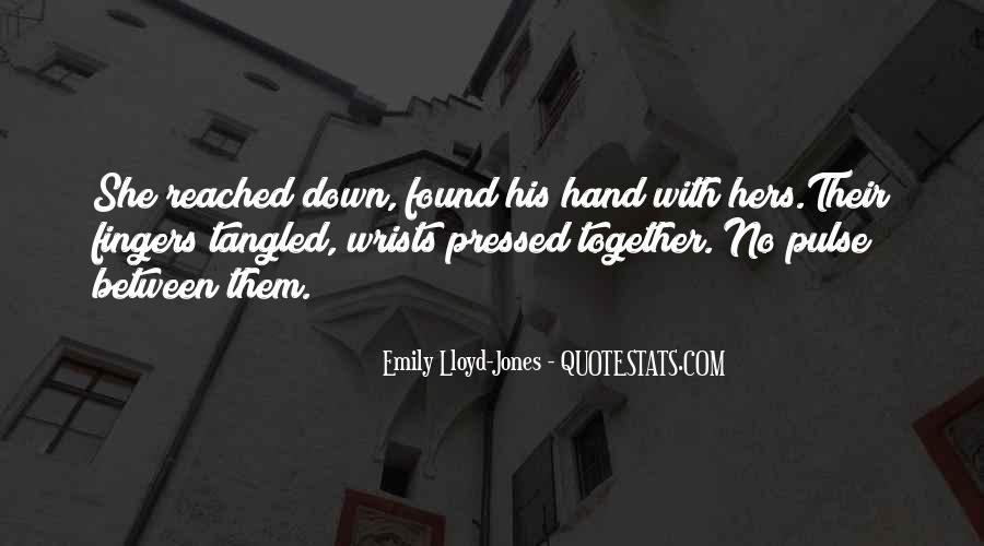 Emily Lloyd-Jones Quotes #107063