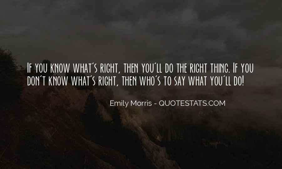Emily Morris Quotes #527750