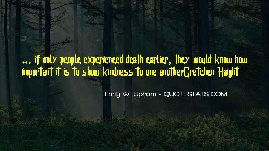 Emily W. Upham Quotes #1507143