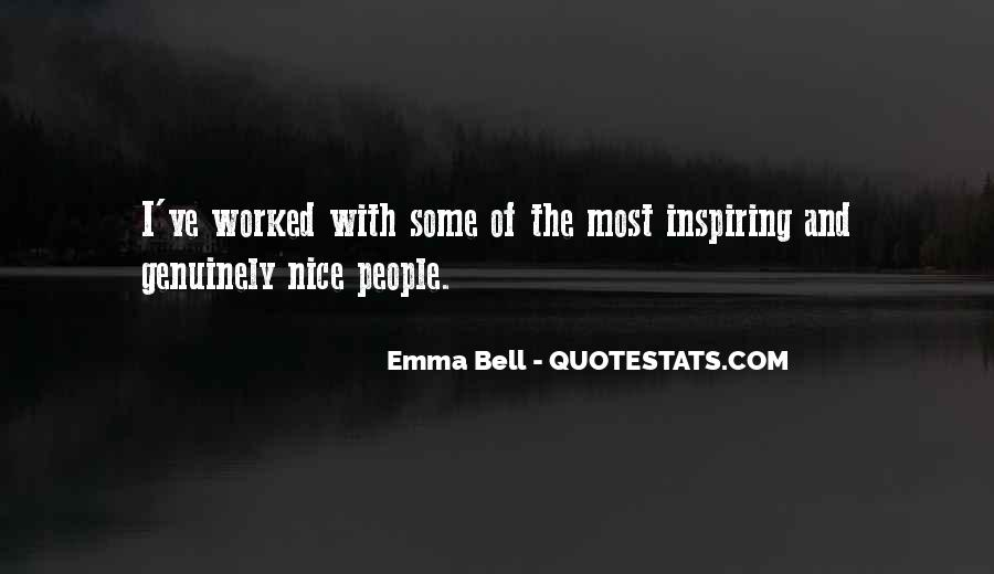 Emma Bell Quotes #494728