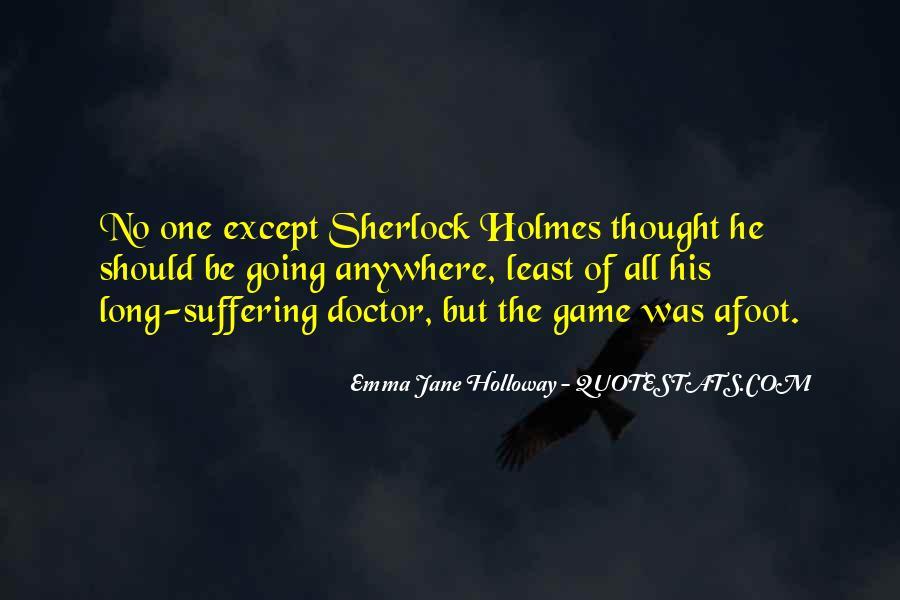 Emma Jane Holloway Quotes #1082633
