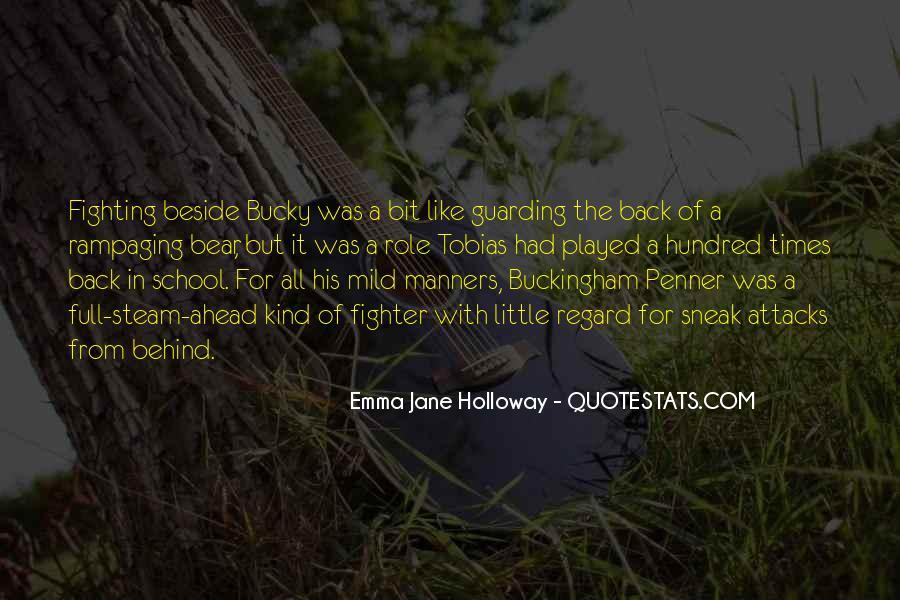 Emma Jane Holloway Quotes #1471507