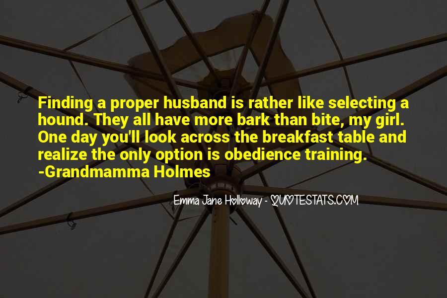 Emma Jane Holloway Quotes #1681805