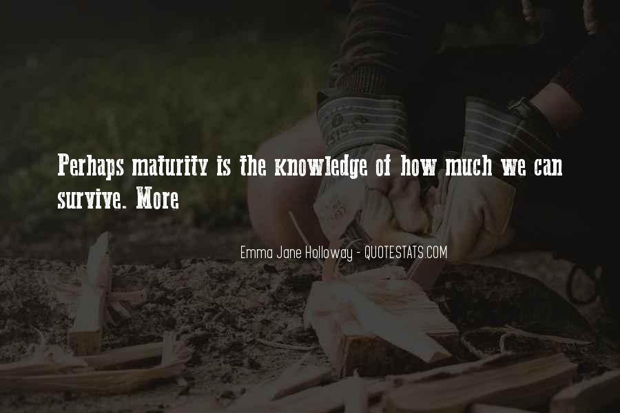 Emma Jane Holloway Quotes #517440