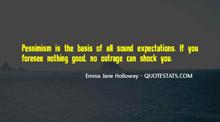 Emma Jane Holloway Quotes #551943