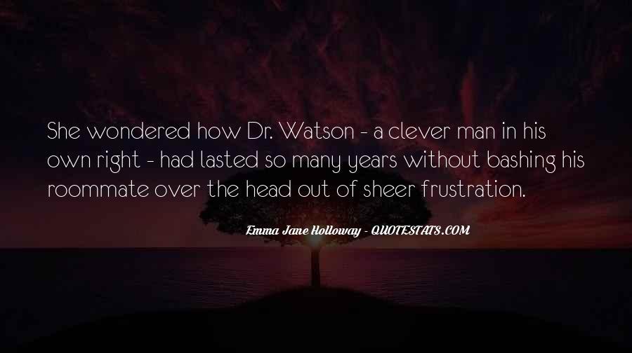 Emma Jane Holloway Quotes #57666