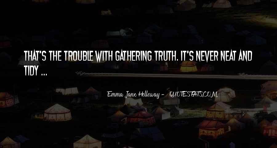 Emma Jane Holloway Quotes #918372