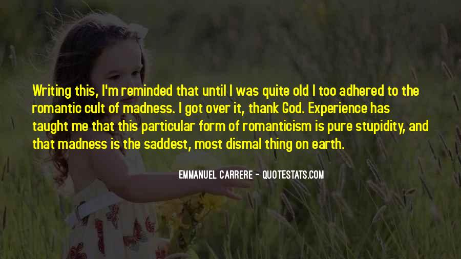 Emmanuel Carrere Quotes #229683