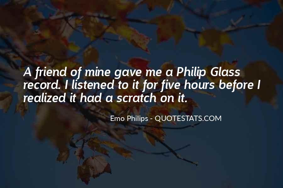 Emo Philips Quotes #1209602