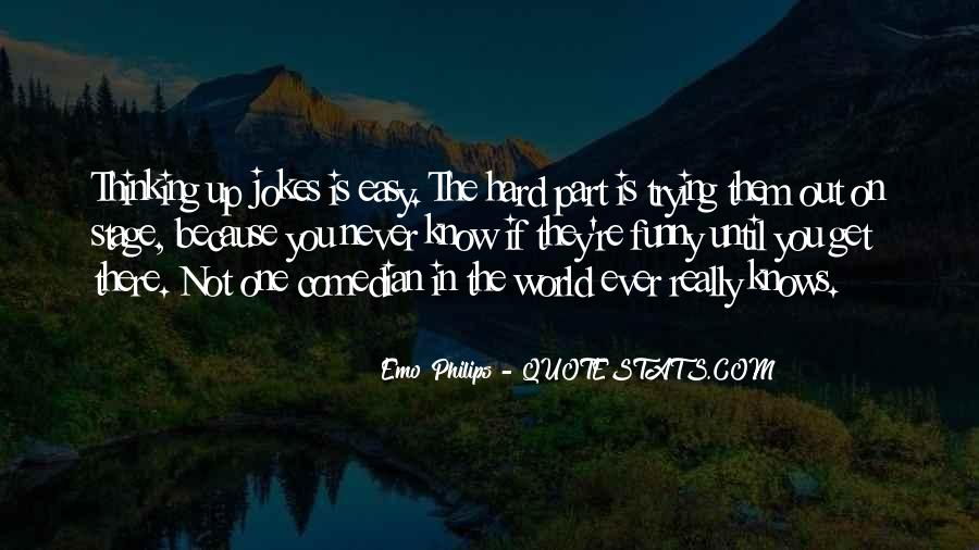 Emo Philips Quotes #149154
