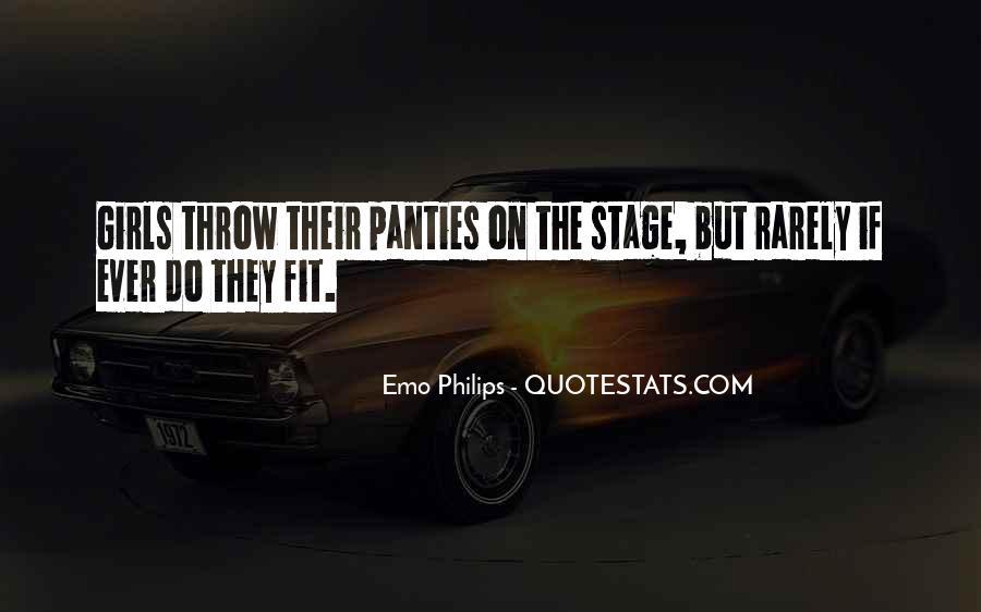 Emo Philips Quotes #1748836