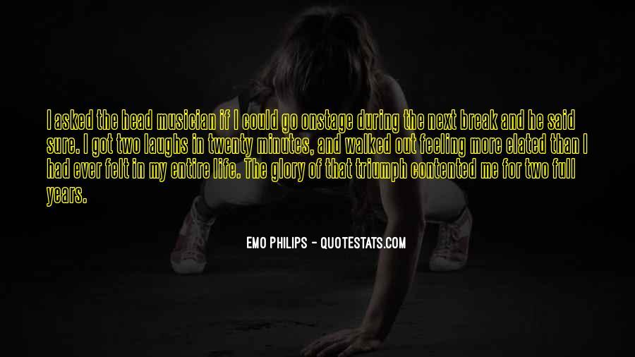 Emo Philips Quotes #1786083