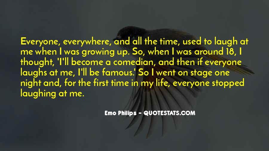 Emo Philips Quotes #24499