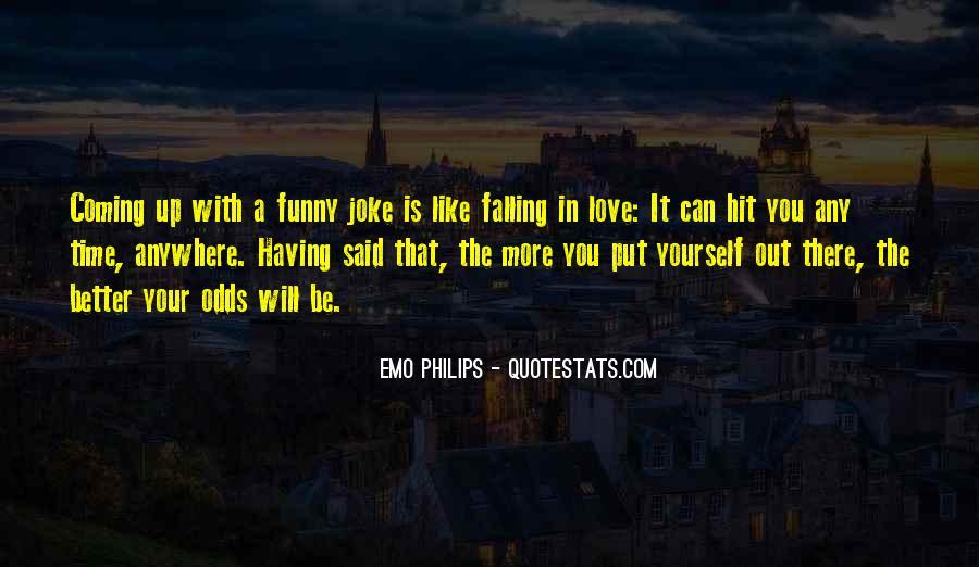 Emo Philips Quotes #933673