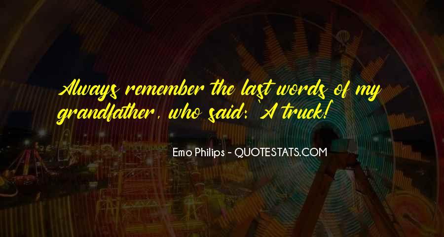 Emo Philips Quotes #966313