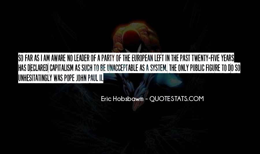 Eric Hobsbawm Quotes #12839