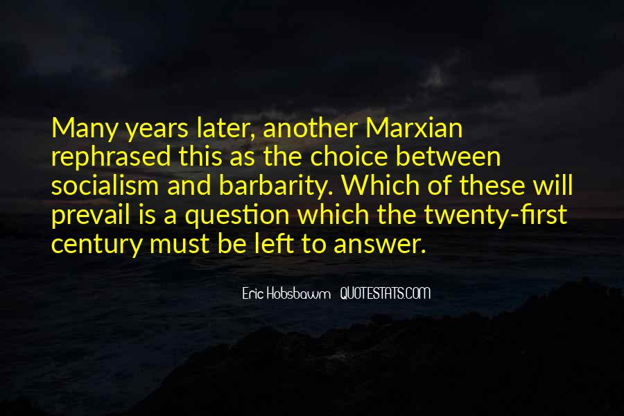 Eric Hobsbawm Quotes #1622650