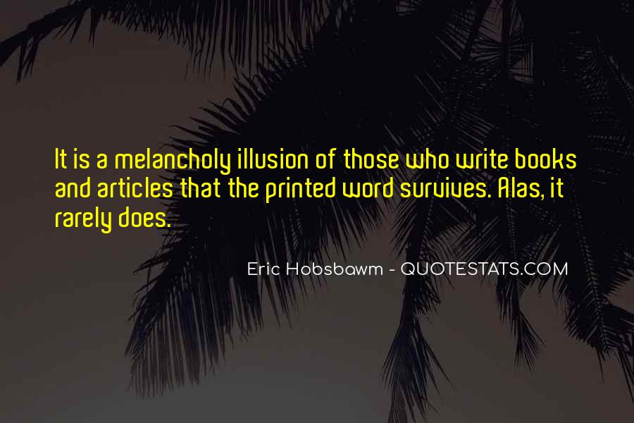 Eric Hobsbawm Quotes #195058