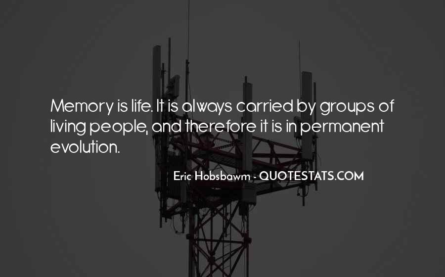 Eric Hobsbawm Quotes #26601