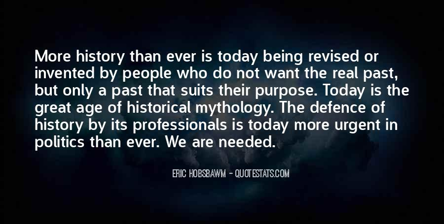 Eric Hobsbawm Quotes #291057