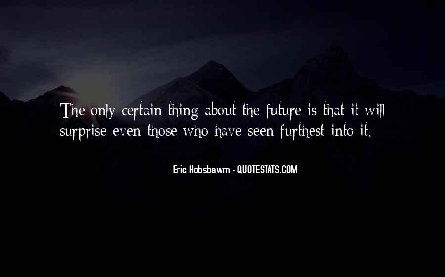 Eric Hobsbawm Quotes #903167