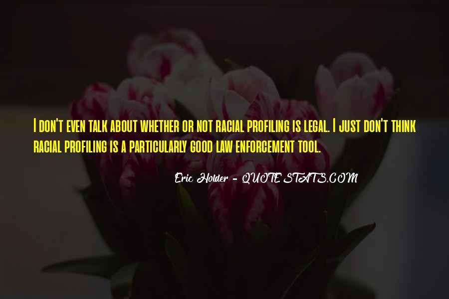 Eric Holder Quotes #1021439
