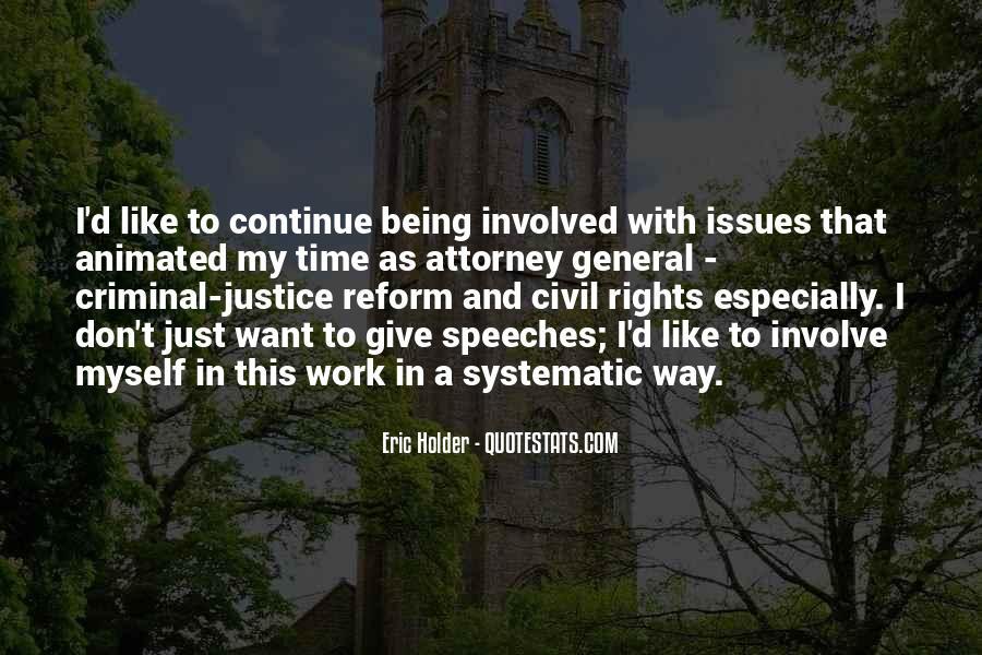 Eric Holder Quotes #1135334