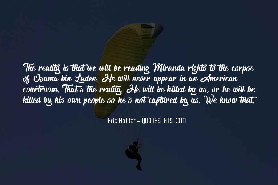 Eric Holder Quotes #1236262